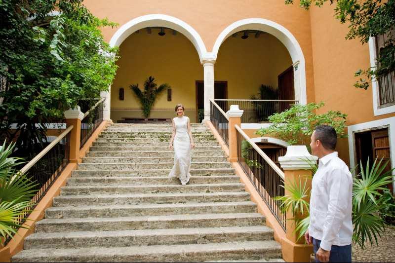 sesion de fotos boda hacienda