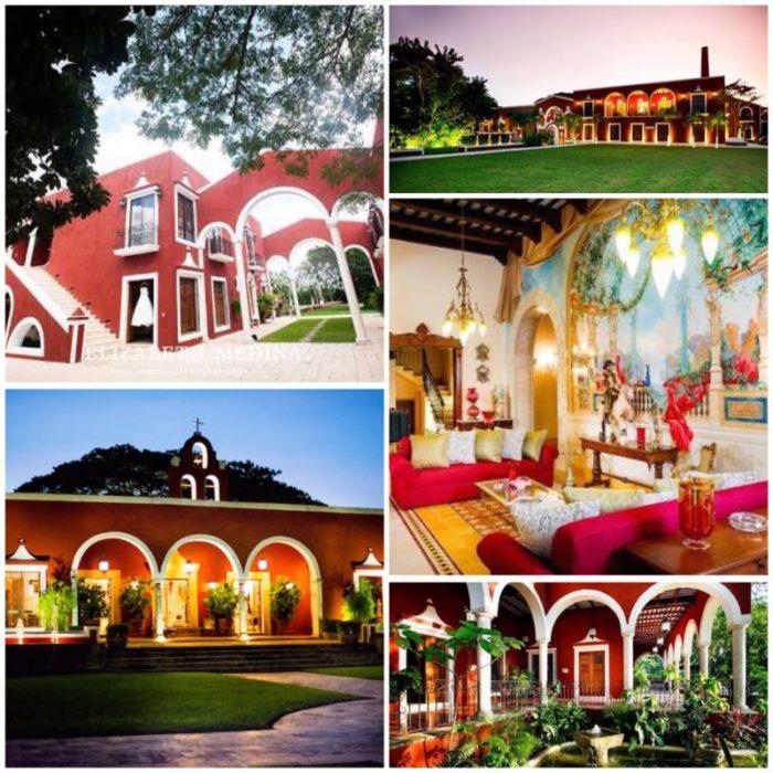 Mejores haciendas para bodas en Yucatán