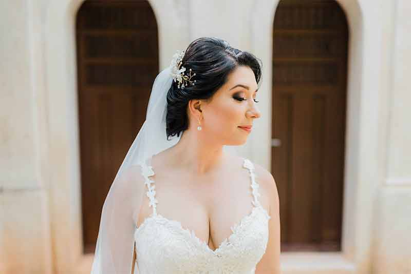 look makeup wedding
