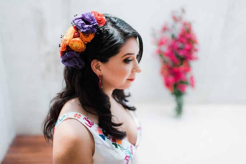 makeup flores