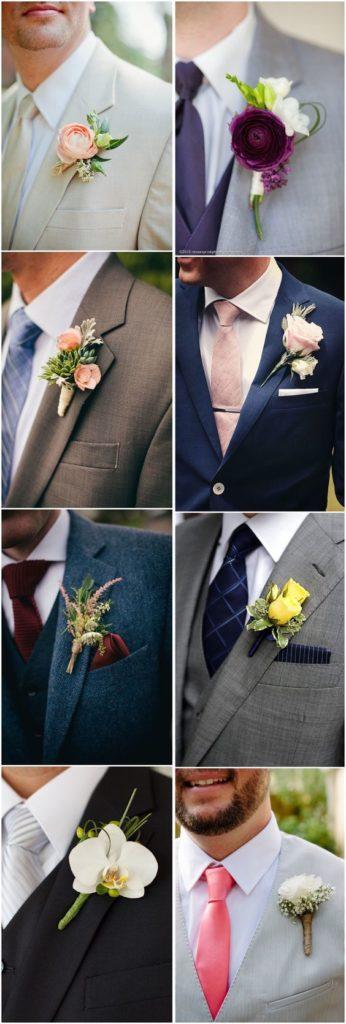 trajes de novio gris