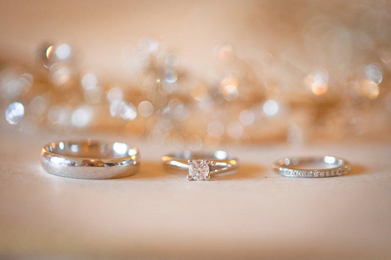 aros de compromiso y matrimonio