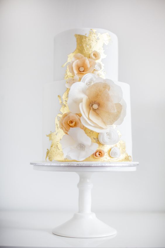 bouquet wedding cake