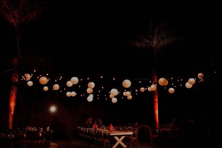 Wedding details at Hacienda Sac Chich decoration furniture