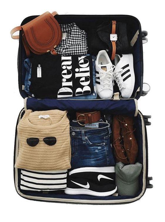 La maleta para tu luna de miel.