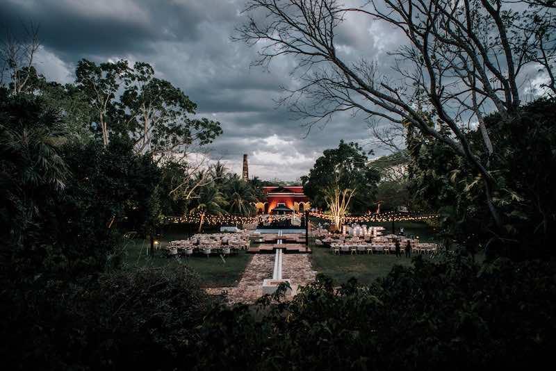 boda en hacienda yucateca
