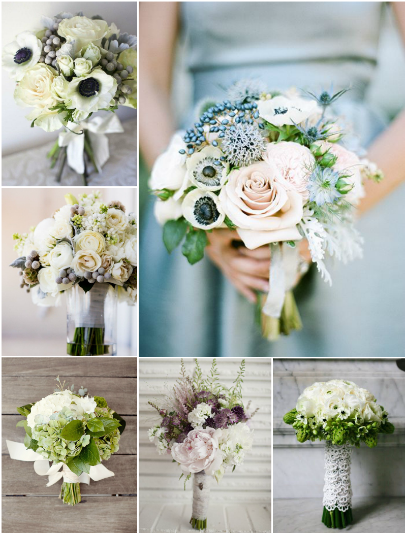 Bouquets de novia. ¿Cuál es tu estilo?