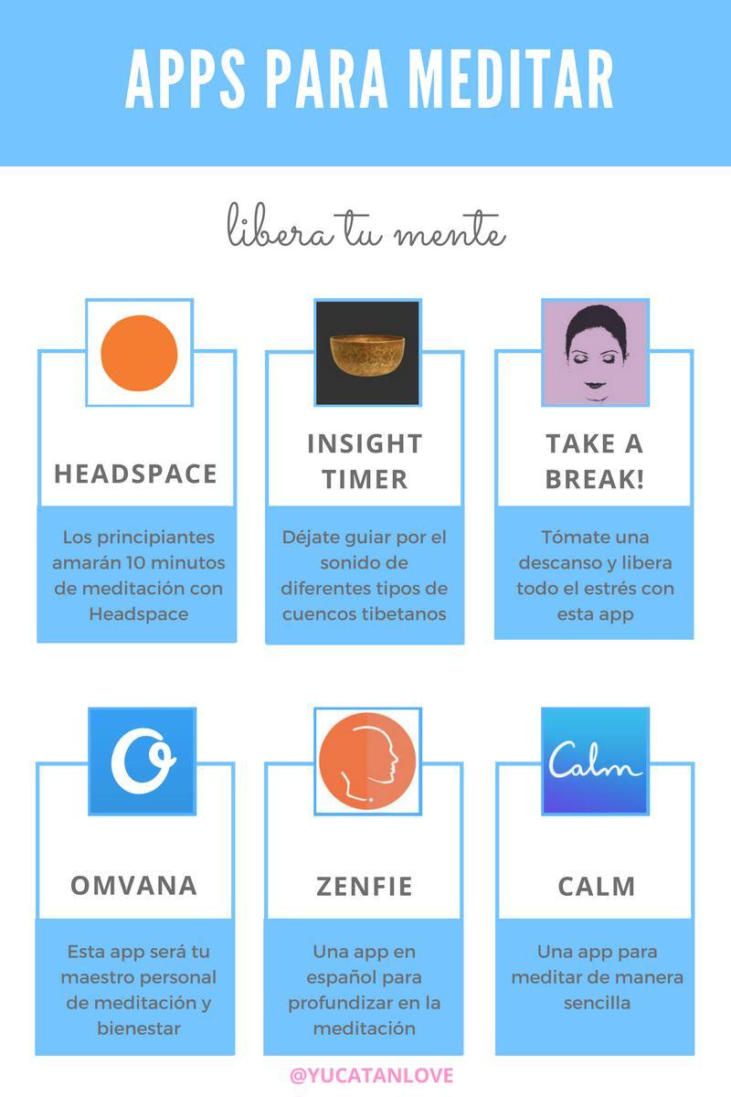 Apps para meditar meditación