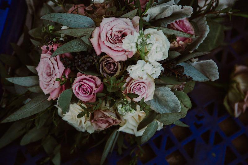 classic wedding bouquet at destination wedding