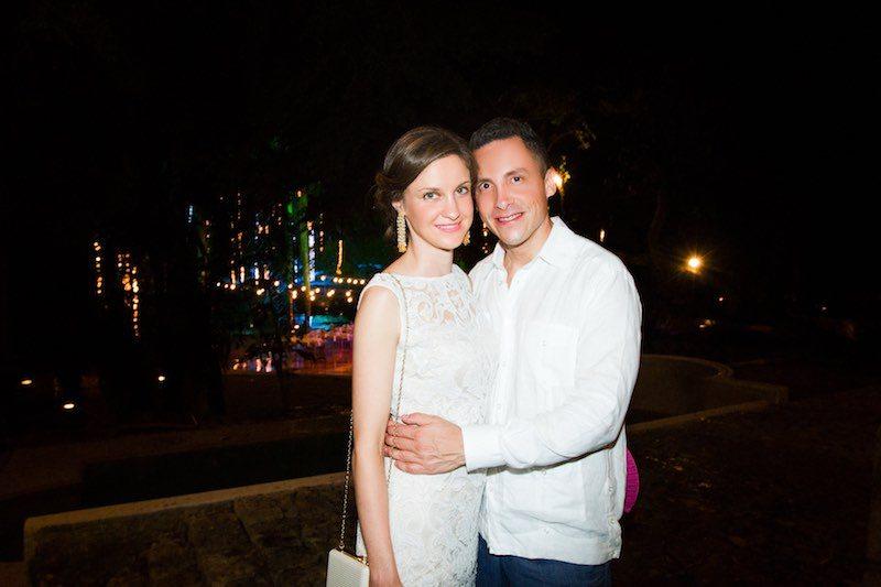 Wedding couple at Destination Wedding Hacienda
