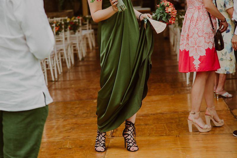 ¿Como vestir para una boda de noche?