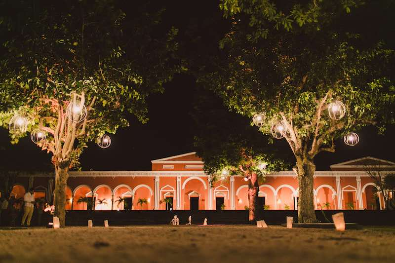 Wedding hacienda in Yucatan