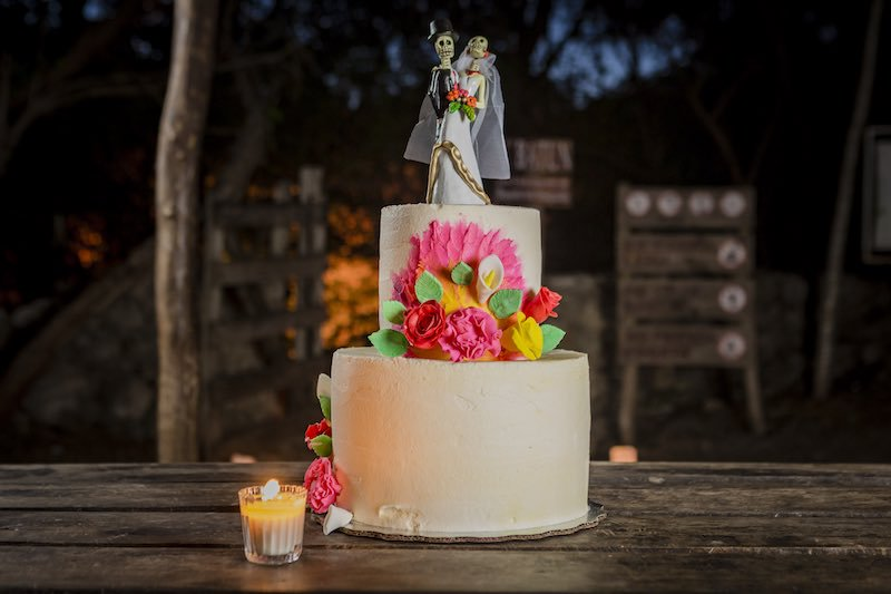 Mexican Chic Cake