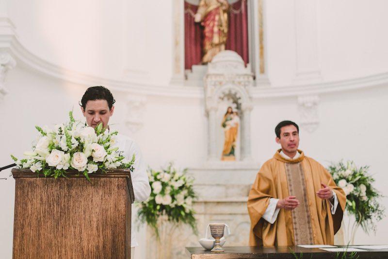 Wedding Reading at Yucatan