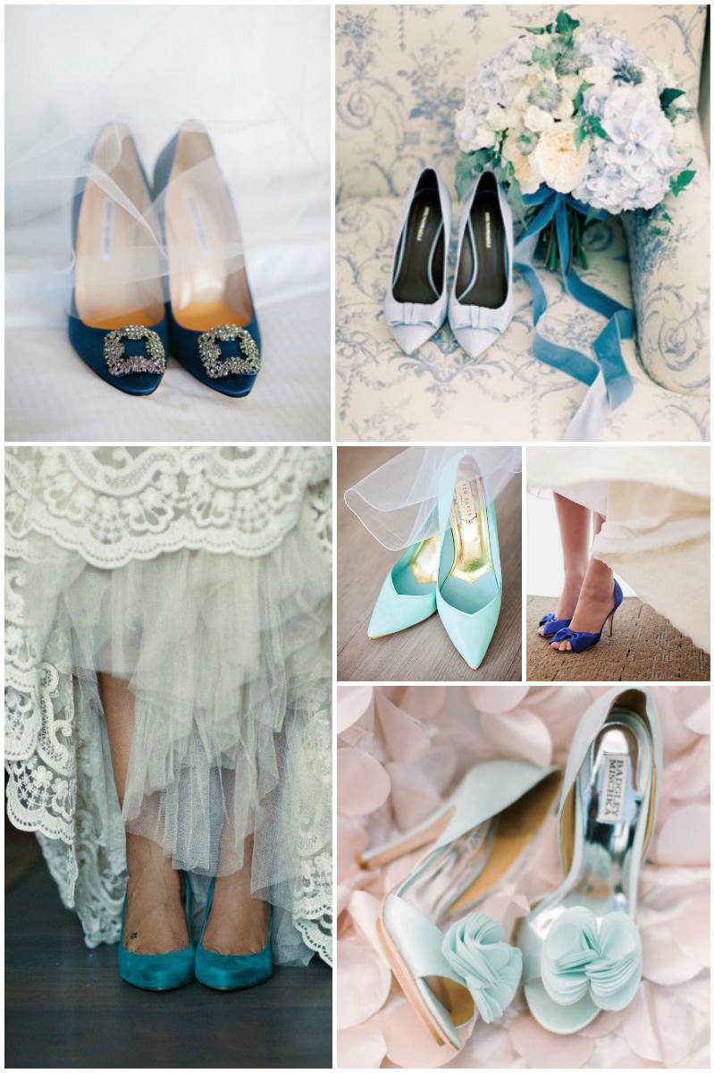 Something Blue - Wedding Shoes