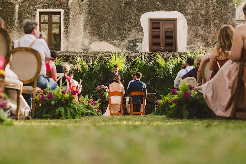 Beautiful wedding at Hacienda Tamchen Yucatan