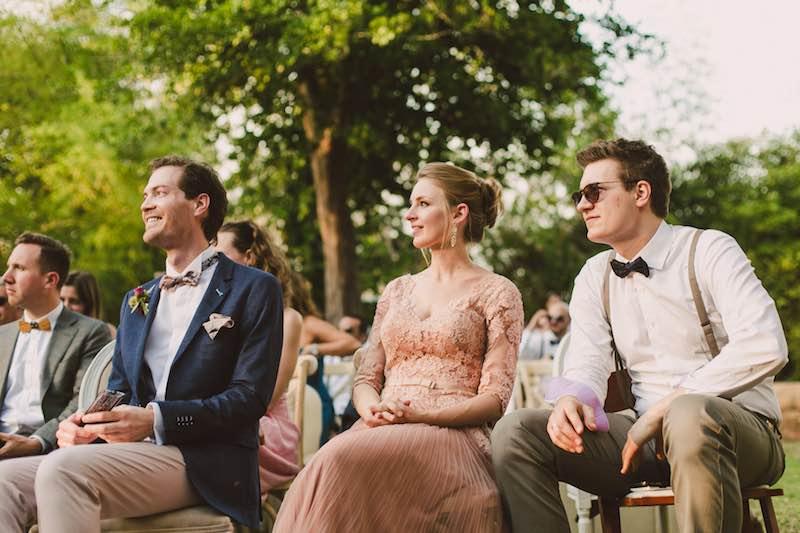 ¿Como vestir para una boda en jardin?