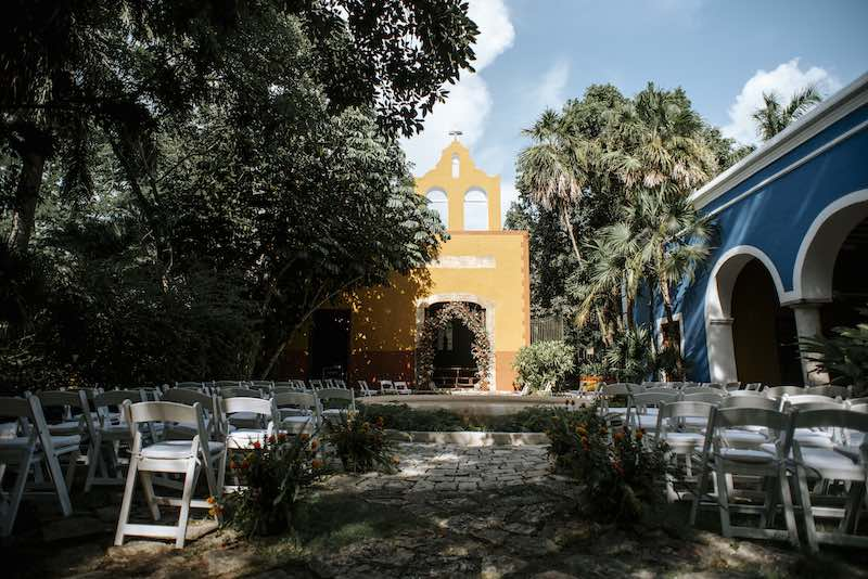 Wedding details at Hacienda San Jose Cholul