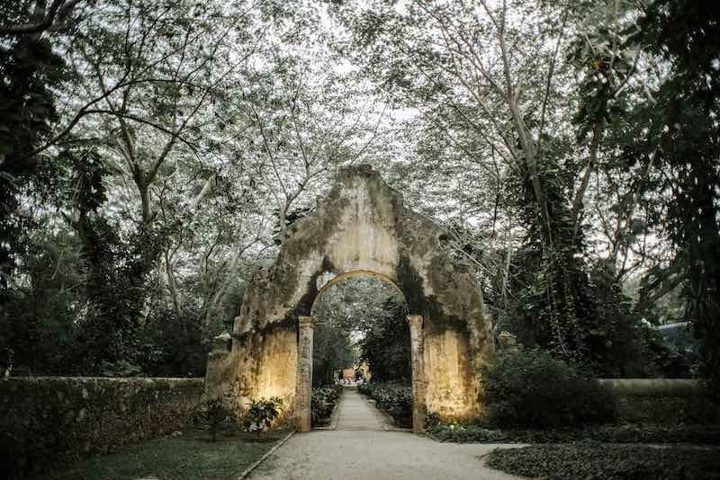 entrance of hacienda San Jose Cholul