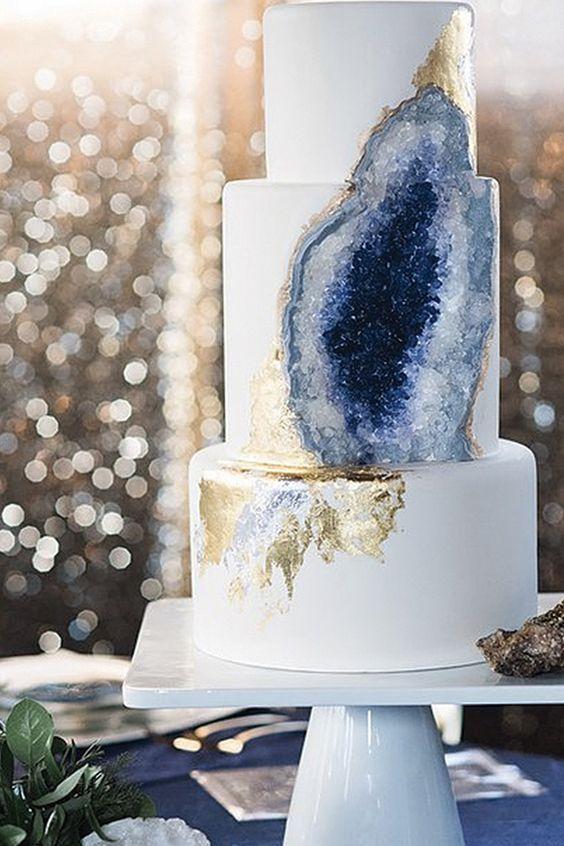 gemstone cake