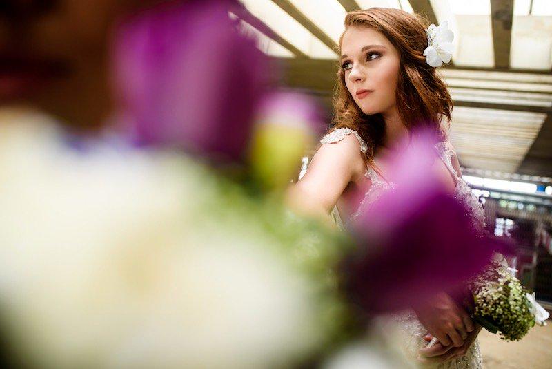enfoque foto boda