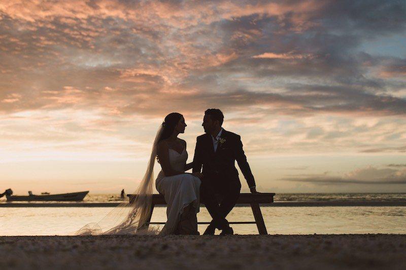 foto boda contraluz