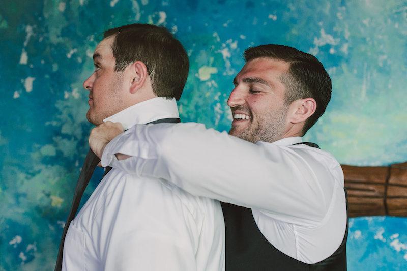 groom and bestmen
