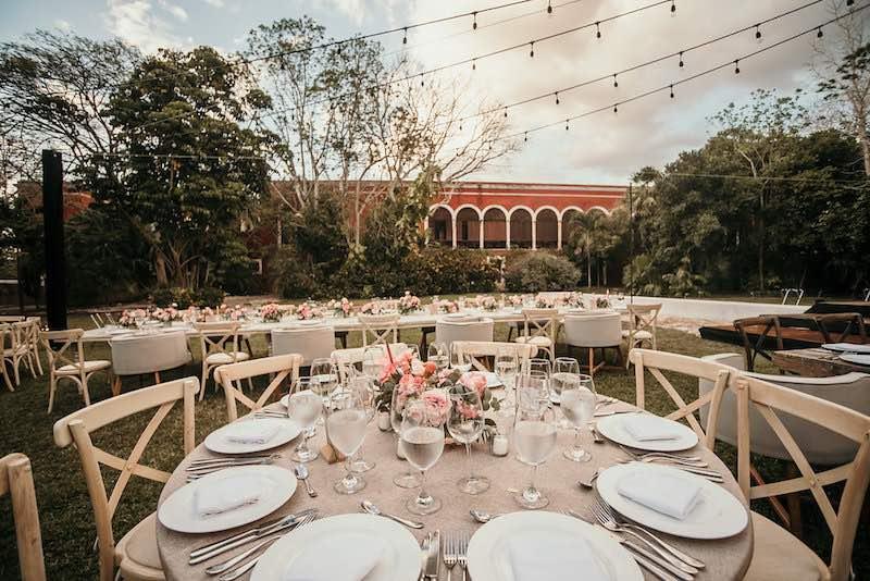 hacienda temozon wedding