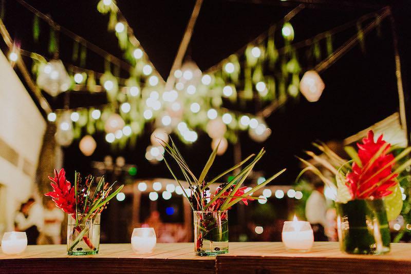 iluminacion para boda