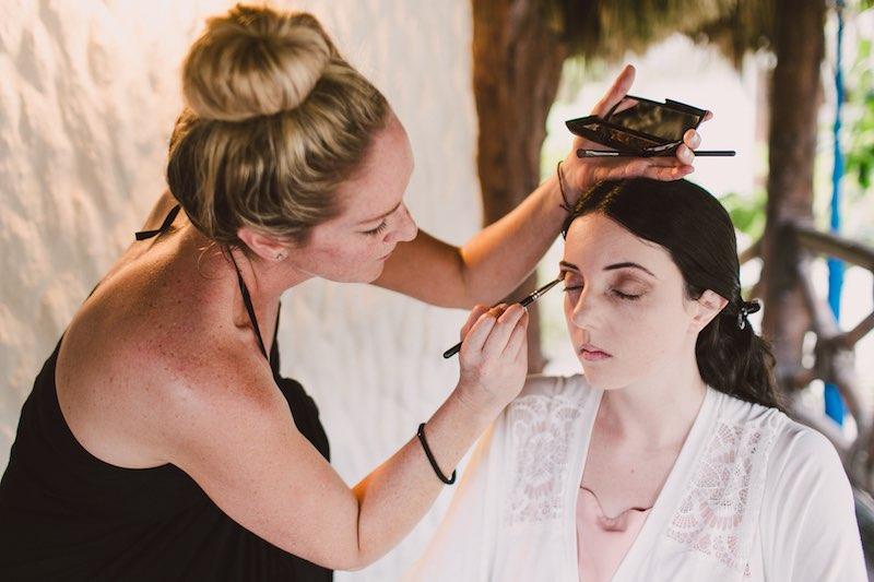 makeup for a wedding