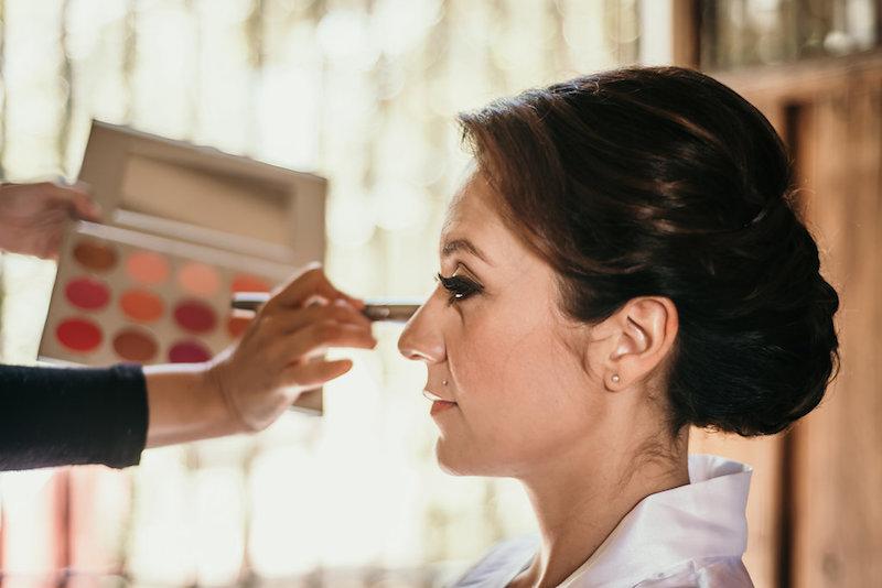 maquillaje para boda en hacienda