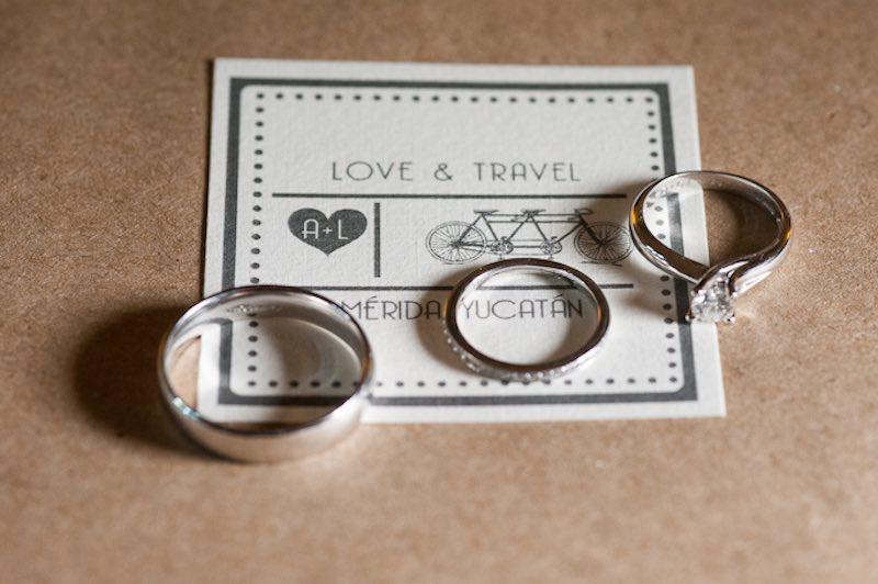 anillos de matrimonio y compromiso
