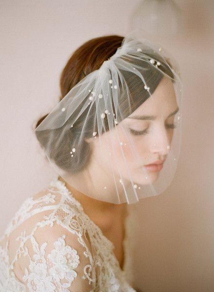 French style bridal veil