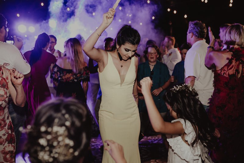 wedding dance at hacienda sac chich