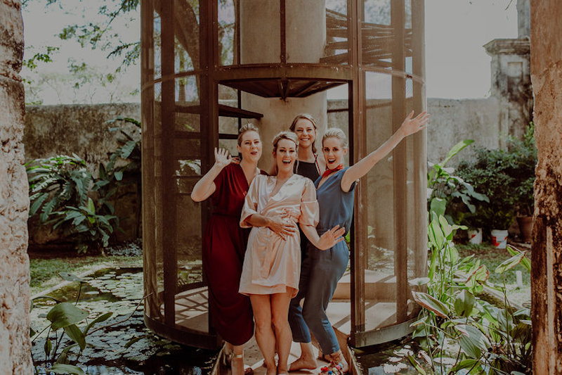 wedding family hacienda sac chich yucatan