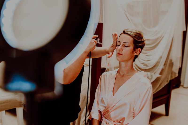wedding makeup bride