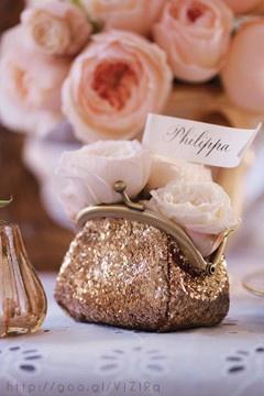 Rose Gold Wedding Details
