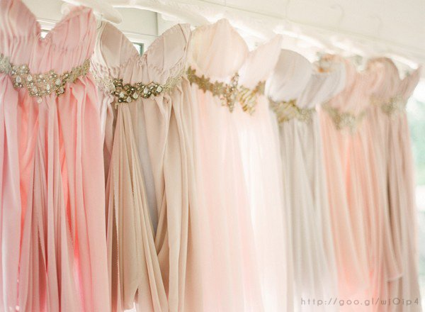 Rose Gold Wedding Dresses