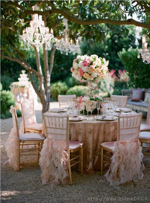 Details at Rose Gold Wedding