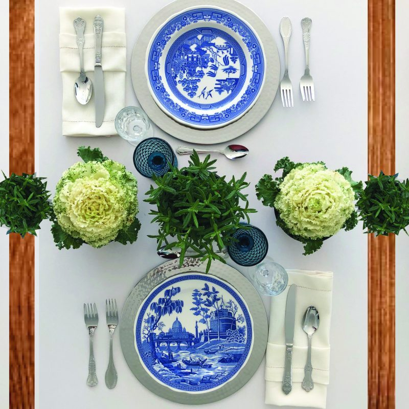 classic wedding table style