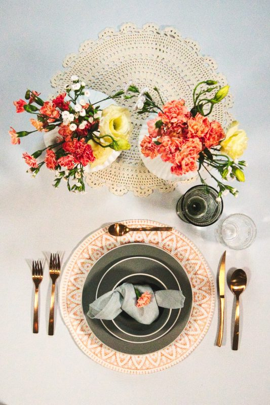 Table wedding decoration
