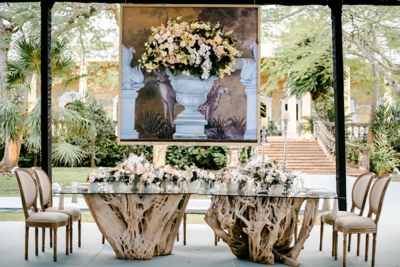 elegant wedding table and chair rentals