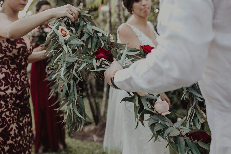 Loop Ceremony wedding hacienda yucatan