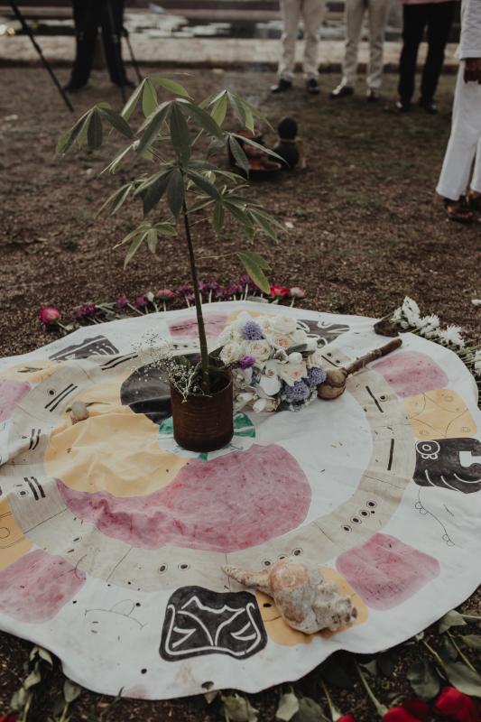 tree mayan Ceremony wedding hacienda yucatan