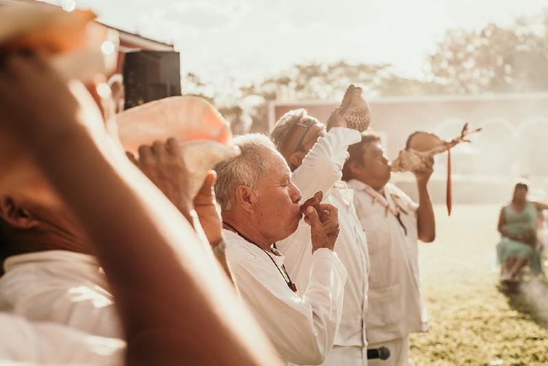 Mayan wedding yucatan