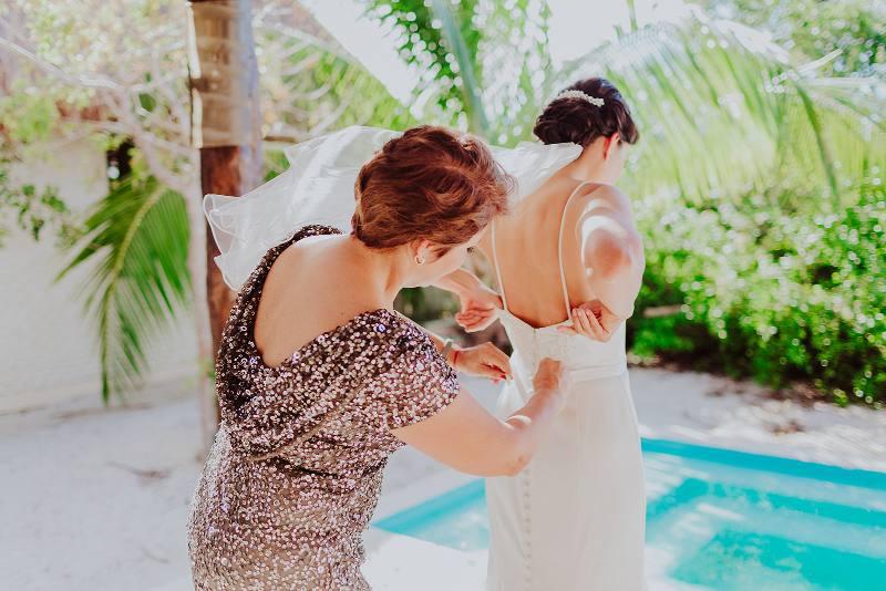 nuptial look dress bride wedding