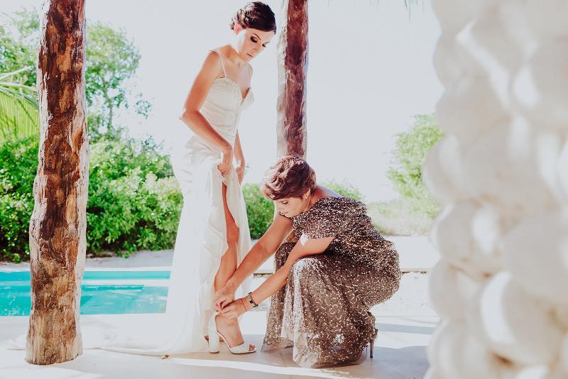 nuptial look bride wedding