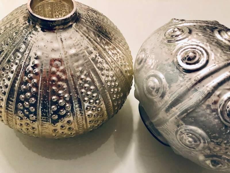 fossil flower vases tropical elegant