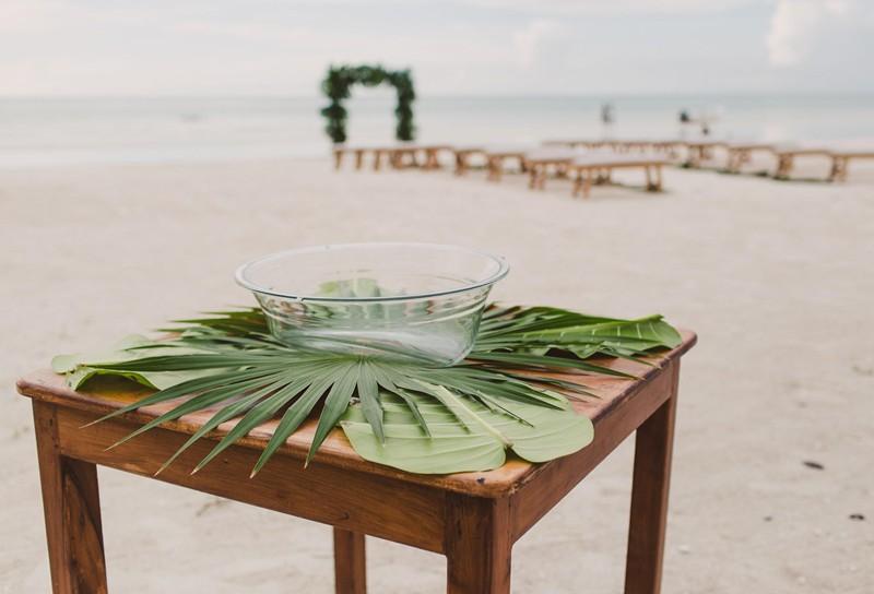 Furniture wedding beach arc