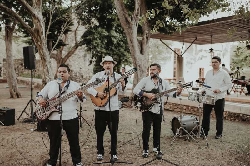 wedding hacienda Tanchem yucatan musician